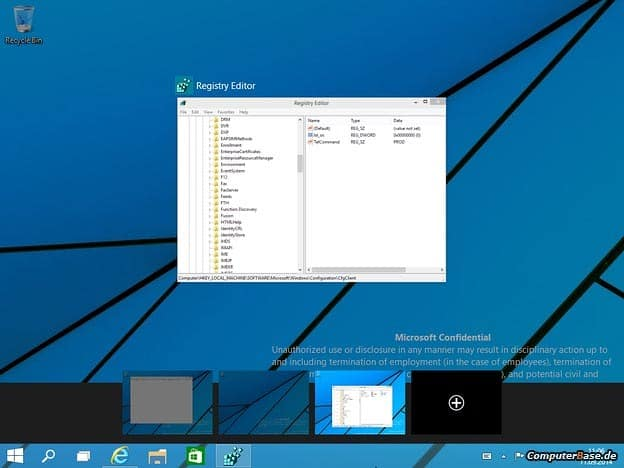 Leaked Windows 9 Screenshots Reveal Virtual Desktops and More