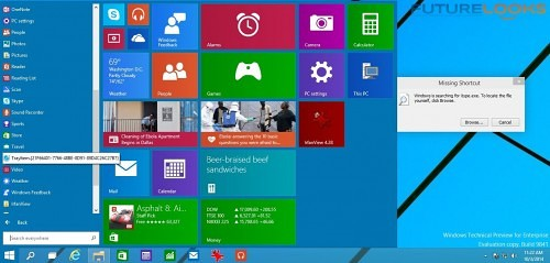 Futurelooks Microsoft Windows 10 Preview What We Didn't Like 3