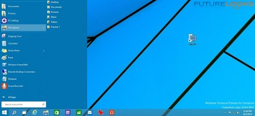 Futurelooks Microsoft Windows 10 Preview What We Didn't Like 5
