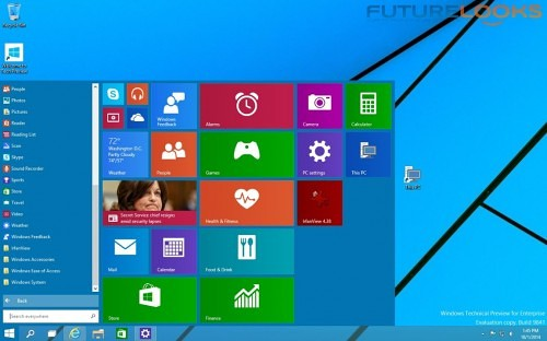 Futurelooks Microsoft Windows 10 Preview_ What We Liked 3