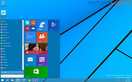 Futurelooks Microsoft Windows 10 Preview_ What We Liked 4