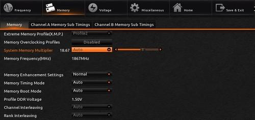 Kingston HyperX Fury 16GB 1866 MHz DDR3 Memory 24