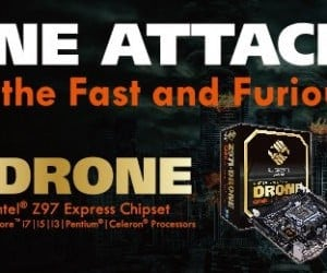 The Attack Commences with the ECS Z97I-Drone Mini-ITX Motherboard