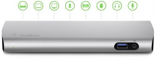 Belkin Announces Thunderbolt 2 Express Dock HD for Macs and PCs