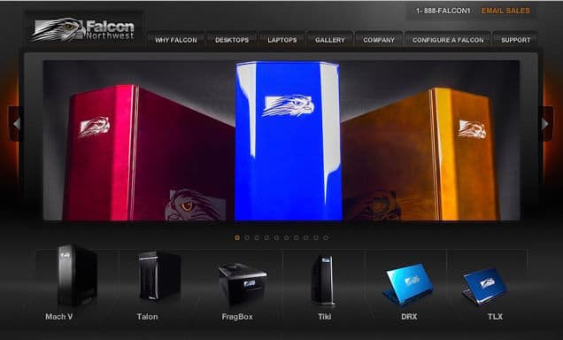 Best Custom PC Builders Include Puget Systems and Falcon Northwest