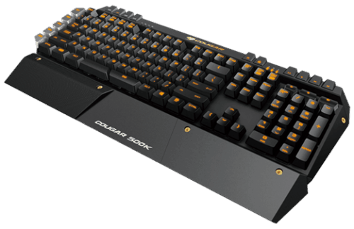 COUGAR Announces 500K, Remembers Some Gamers Still Prefer Membrane Keyboards