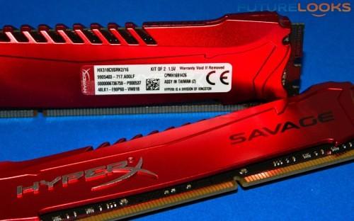 Kingston HyperX Savage 16GB 18666 MHz DDR3 Memory 14
