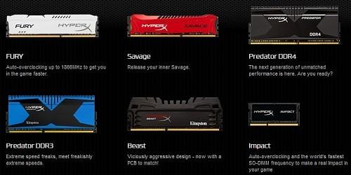 Kingston HyperX Savage 16GB 18666 MHz DDR3 Memory 24