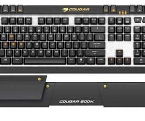 COUGAR Simplifies a Little with 600k Gaming Keyboard