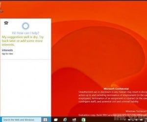 Windows 10 Build 9901 Features Cortana Integration and Xbox App