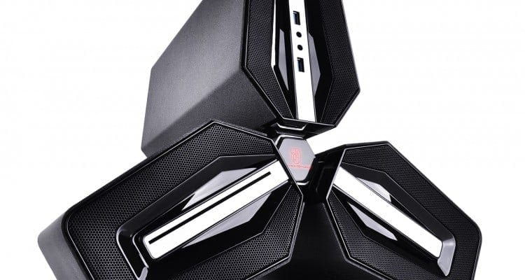 The DEEPCOOL Tristellar Case Takes Case Design to Infinity and Beyond (CES 2015)