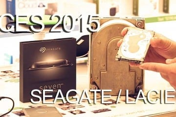 CES 2015 Coverage – Seagate Shows Ultra-Thin SEVEN, LaCie Rugged RAID, and Mirror USB Hard Drives (Video)