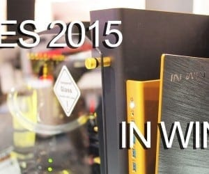 CES 2015 Coverage – In Win Releases New S-Frame Color, Previews S-BOX Case, Unveils Power Man PSU Updates and More (Video)