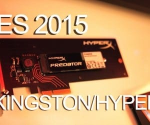 CES 2015 Coverage – Kingston Shows New HyperX PCIe and SATA SSDs, Cloud II Gaming Headset and More (Video)