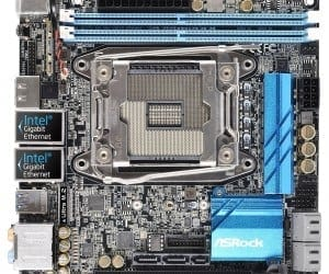 ASRock X99E-ITX/ac -World's First Mini-ITX X99 Motherboard
