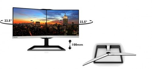 Philips Two-in-One Display Offers Near Seamless Dual Monitor Productivity