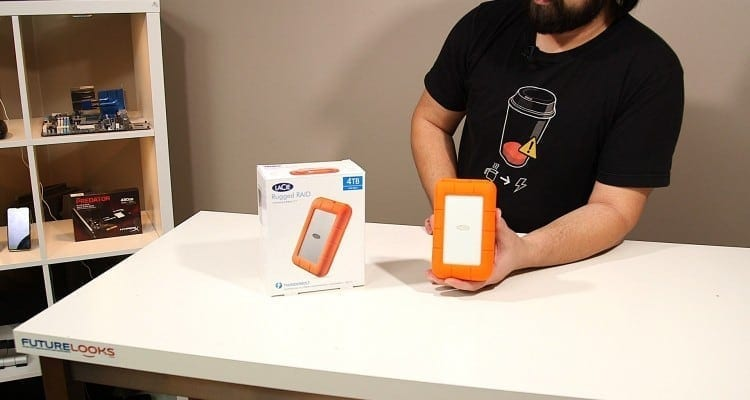 LaCie Rugged RAID 4TB Thunderbolt Portable Drive Unboxed! (Video)