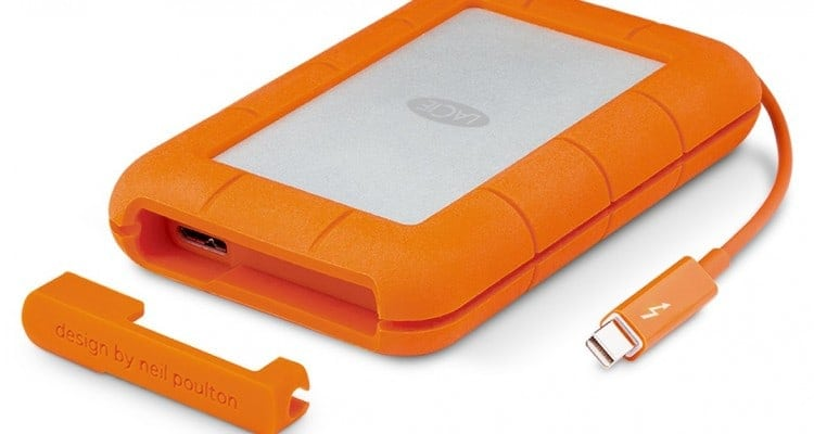 LaCie Rugged Thunderbolt SSDs Arrive in 1TB Size