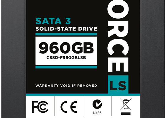 Corsair Force Series LS SSD Line Grows to Accomodate 480GB and 960GB Capacities