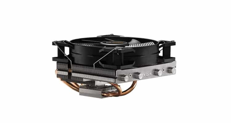 be quiet! Shadow Rock LP Cooler - Quiet Cooling for Small Form Factor PCs