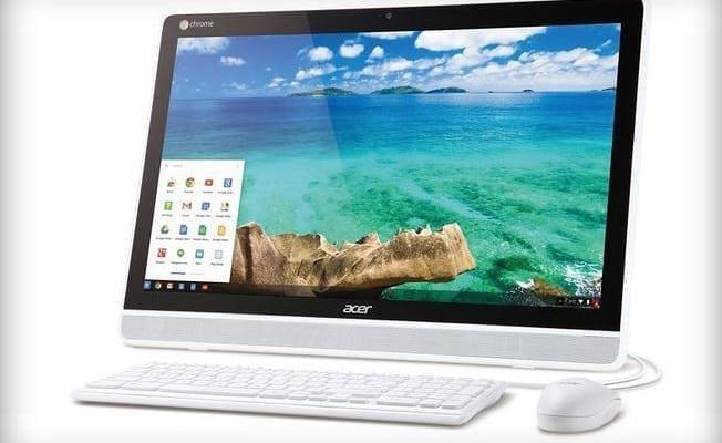 New Acer Chromebase Follows Chromebox, Chromebook, Chromebit...