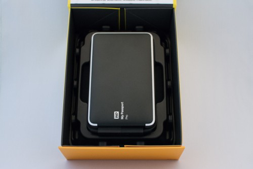 WD My Passport Pro 4TB - Box