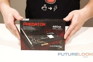Kingston HyperX Predator PCIe 480GB HHHL SSD Unboxed (Video)