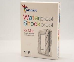 ADATA HD710A 1TB Waterproof Shockproof External Drive for Mac Review