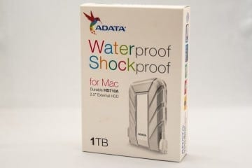 ADATA HD710A 1TB Waterproof Shockproof External Drive for Mac Review
