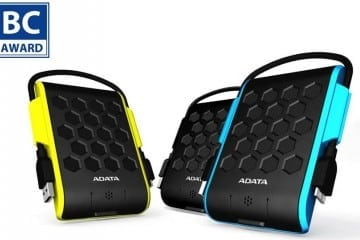 COMPUTEX 2015: Colorful ADATA HD720 External Drives Win Best Choice Award