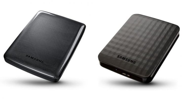 Pocket 4TB Portable Hard Drives from Samsung HDD