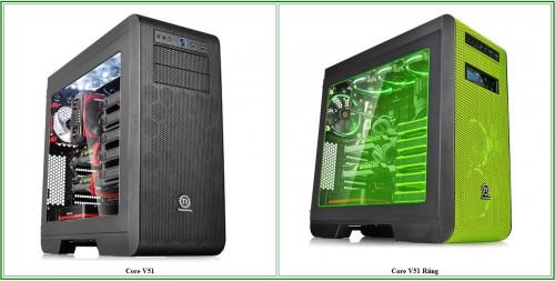 Thermaltake Core V51 Computer Enclosure Reviewed