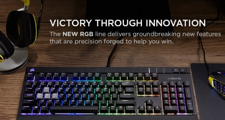 Corsair Evolves Gaming Arsenal with New RGB Keyboards, Mice, and Headsets