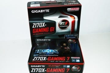 GIGABYTE GA-Z170X-Gaming 7 and GA-Z170X-Gaming G1 Motherboards Reviewed