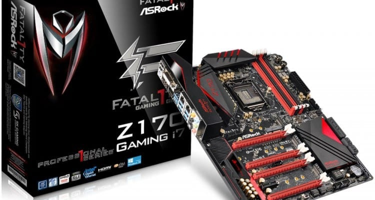 ASRock and Fatal1ty Get Serious About Fragging with Latest Z170 Gaming Motherboard