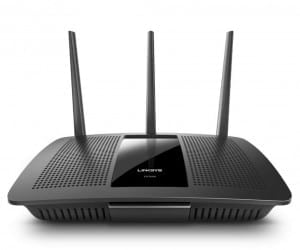 Linksys AC1900 MU-MIMO Wireless Router Connects Streaming Families