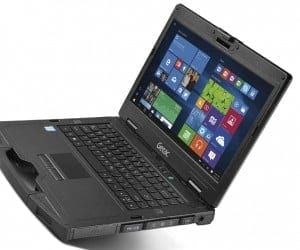 Getac S410 Semi-Rugged Notebook Still Tough in Thinner Shell