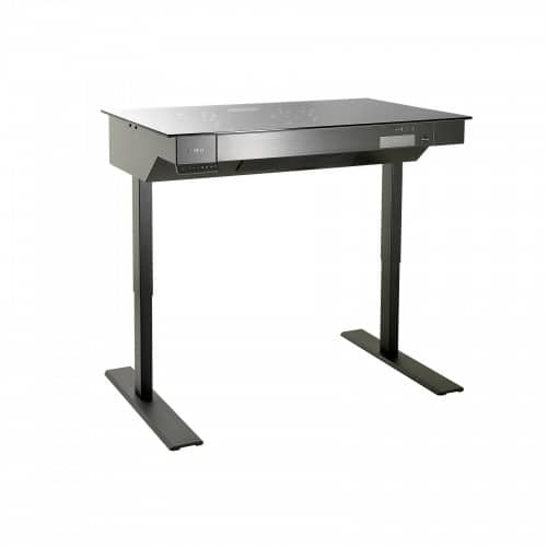 Lian Li Stands at Attention with DK-04 Height-Adjustable Computer Desk PC