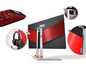 AOC Gets Into Gaming with AGON Sub-Brand