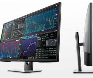 Dell 43 Ultra HD Multi-Client Monitor Is Four Monitors in One