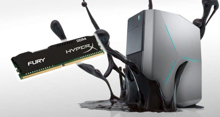 Alienware Aurora Gaming PC Powered by HyperX Fury