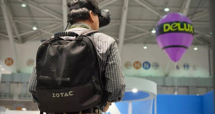 Would You Wear a Backpack PC for VR?