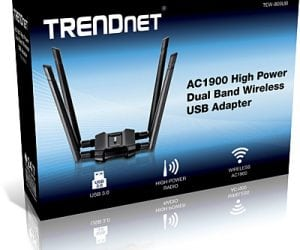 TRENDnet Offers AC1900 Wi-Fi USB Adapter for Up to 1300Mbps