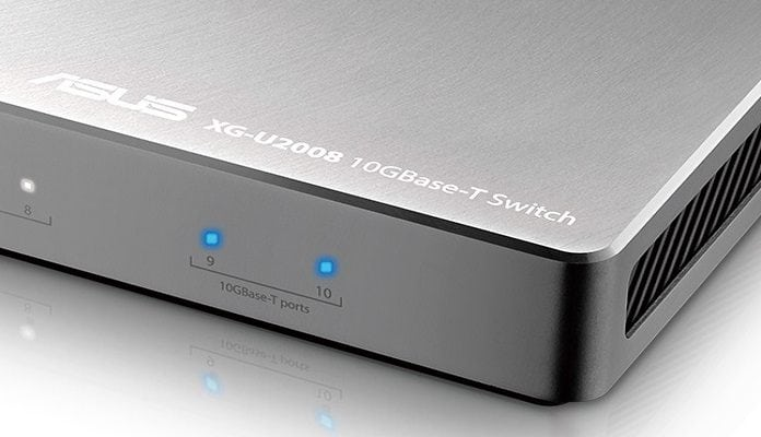 ASUS Introduces XG-U2008 Switch for Affordable 10G Networking