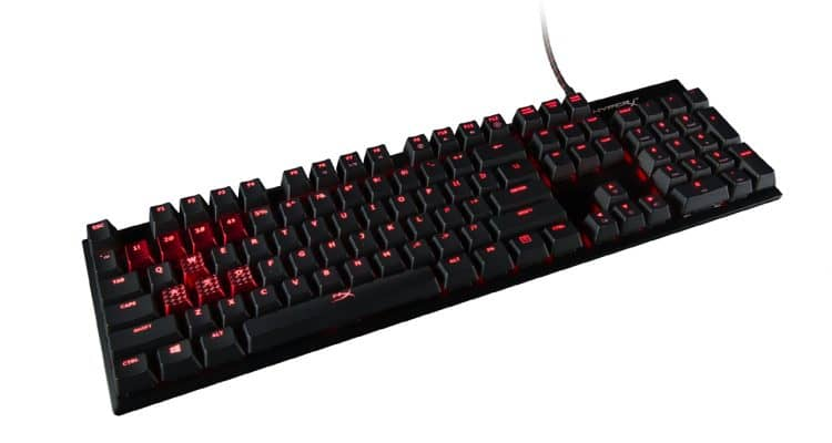 HyperX Alloy FPS Gaming Keyboard, Now with More Cherry MX Options
