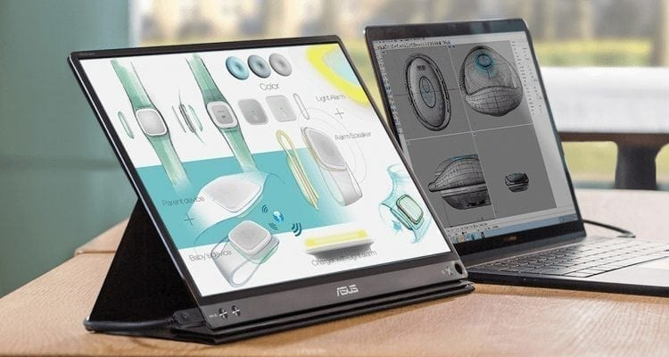 Asus ZenScreen Empowers Improved TPS Report Productivity