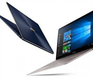 Asus ZenBook 3 Deluxe Features 14-Inch NanoEdge Display