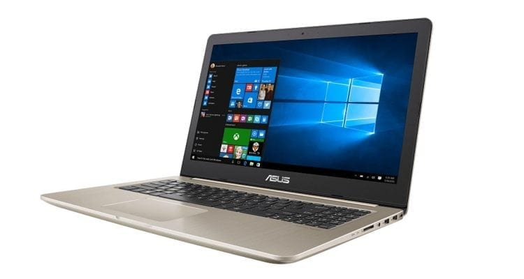 ASUS VivoBook Pro N580 Keeps It Slim and Lightweight