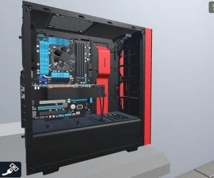 PC Building Simulator Featuring NZXT
