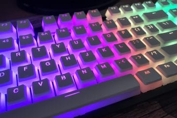 HyperX Double Shot PBT Keycaps Review